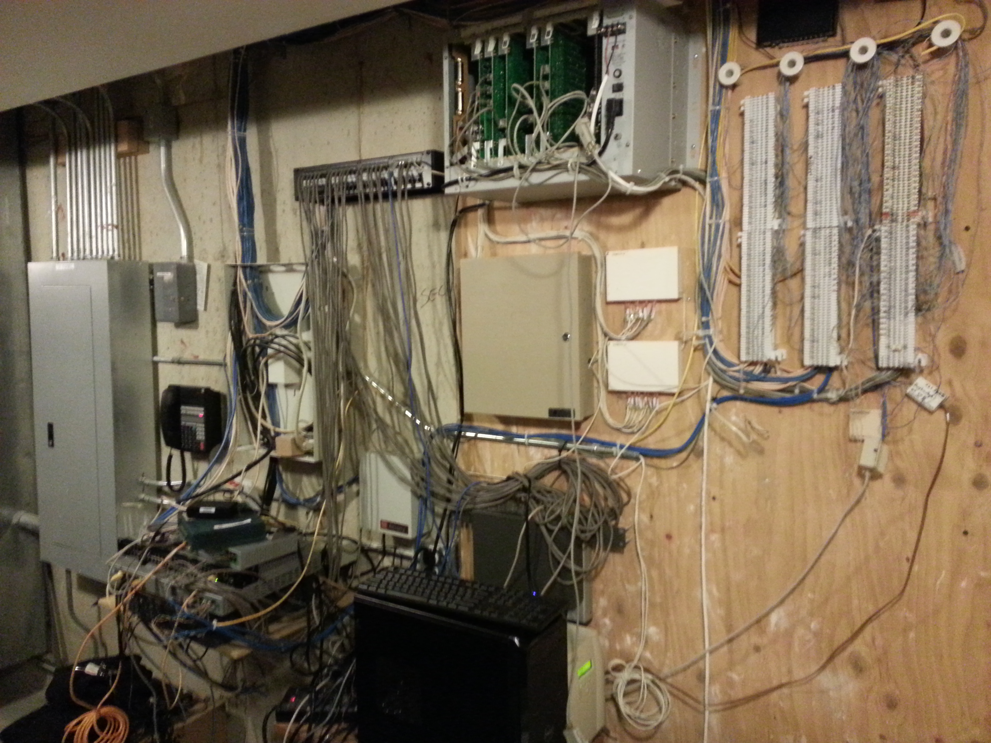 Structured Cabling Services Wire Line Inc Contact Us To Learn More About Our Wiring But You Really Want It Look Like This