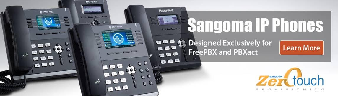 Sangoma-IP-phones